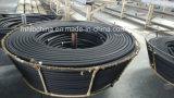 Boyau hydraulique spiralé de /Rubber de l'embout de durites de fil (En856-4sp-16)