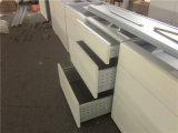 Armoires de cuisine à membrane en PVC de style européen avec tiroirs