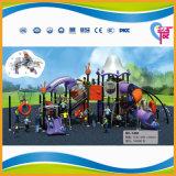 Campo de jogos plástico ao ar livre engraçado Multifunctional para os miúdos (A-7402)