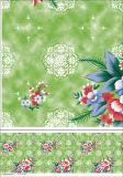Mantel impreso película blanca cuadrada del PVC de la dimensión de una variable para el hogar/el partido
