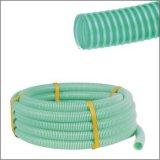 """3/4 de verde elevado de """" ~8 """" Qualitty, vermelho, mangueira amarela da sução do PVC, PVC corrugou a mangueira, mangueira do PVC"""