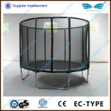 Nuovo Trend Outdoor Big 6FT-16FT Cheap Trampoline con Enclosure