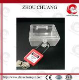 Zc-G11 38mm 비전도성 안전은, 나일론 물자를 가진 아BS 통제 밖으로 잠근다
