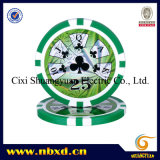 11.5g Sticker Poker Chip met Available Stickers (sy-D17C)