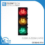 bicicletta rossa dei segnali stradali di verde giallo 12inch LED di 300mm