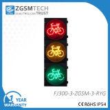 300mmの12inch赤い黄色緑LEDの交通標識の自転車