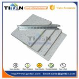 Telhas acústicas do teto da fibra mineral