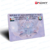 IDENTIFICATION RF ultra-légère Smart Card de puce de PVC 13.56MHz