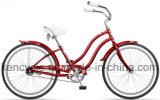 """Bicicleta das mulheres da bicicleta 24inch da bicicleta do cruzador da praia bicicleta do serviço bonito 24 do OEM do projeto da """""""