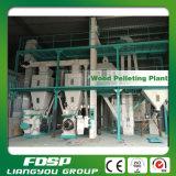 Cadena de producción de madera de la pelotilla del arroz de la nodulizadora de madera de la cáscara para la venta