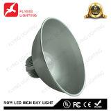 50W LEDセリウム、FCC、RoHSが付いている産業屋外の高い湾ライト