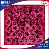 Caixa de indicador acrílica Handmade de Rosa de 36 rosas da fábrica
