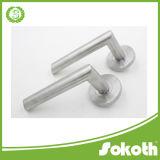 高品質のステンレス鋼のガラスドアハンドルSs 00