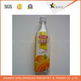 Collant de papier estampé d'impression d'étiquette de boisson de PVC de film craintif d'OEM