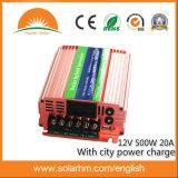 (HM-12-500) 12V 500W hybrider Inverter mit Stadt-Energie