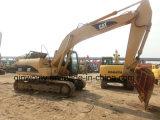 La Procurable-Cummins-Engine 80%-New-Condition Etats-Unis-A exporté l'excavatrice hydraulique utilisée de chenille de taille moyenne du tracteur à chenilles 320c
