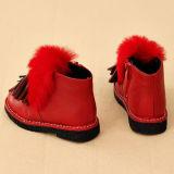 Ботинки детей способа плоско вскользь теплые (k 26)