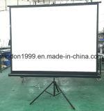 Mattweiß des Berufshersteller-bewegliches Stativ-Projektions-Bildschirm-70X70