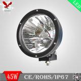 rundes LED fahrendes Licht des CREE 45W Chip-für Auto