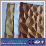 MDF Wall Panel del MDF 3D Carved Wave della Cina-Made Natural