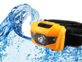 Runningのための3つのLEDs Mini Headlight Headlamp Flashlight Torch Lamp Light