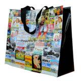 Мешок хозяйственной сумки упаковки OEM изготовленный на заказ прокатанный PP Non сплетенный