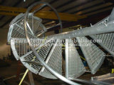 Fabricante profesional de espiral galvanizado Escalones