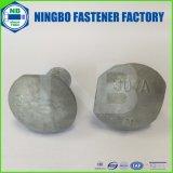 Pente de boulon du butoir A307 une IMMERSION chaude 5/8-11*1-1/4 galvanisé