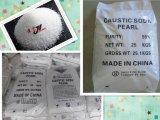 Matéria têxtil de 99% que morre Prills da soda cáustica