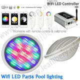 수영장 가벼운 RGB LED PAR56 보충 지구 + 관제사 + 먼 새로운 밝은