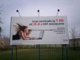 Impression de Digitals de câble de bannière de bannière de PVC Frontlit (300dx500d 18X12 440g)
