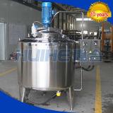 Tanque de mezcla de leche de acero inoxidable / tanque de agitación