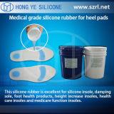 Caucho de silicón sano y suave de las plantillas del zapato
