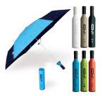 Preiswerter kundenspezifischer Form-Geschenk-Wein-Flaschen-im Freienregenschirm - Sy007