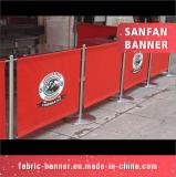 デジタル印刷PVCビニールの旗を広告する屋外の習慣