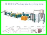 PE van het afval pp de Was die van de Film en de Lijn van het Recycling schoonmaken