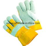 """企業のための短い革靴の革働く手袋は、安全働く手袋、10 """"皮手袋、そぎ皮の完全なやし働く手袋、ドライバー手袋を脅かす"""