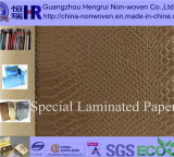 Paper Bag/Paper Box/Gift Box Use (No. A8G011)를 위한 최신 Specialty Leatherette Paper/Leather Paper/Wrapping Paper