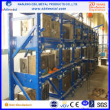 Industrie u. Fabrik-Lager-Speicher-metallisches Fach-Racking/Form-Zahnstange