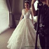 Втулок мантий шарика шнурка платья венчания Y20316 Bridal мусульманских длинних арабские