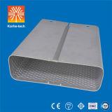 60W cubierta solar al aire libre del alumbrado público LED con un peso ligero más inferior