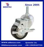 Biaxial a uso medio Retractable Wheel Roller con Brake