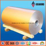 Forma de bobina de aluminio cubierta primero Ideabond