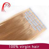 Extension pré collée humaine de cheveux de kératine de Remy de Vierge