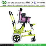 طفلة جديدة صغيرة بالغ يحتاج خاصة [سترولّر] كرسيّ ذو عجلات