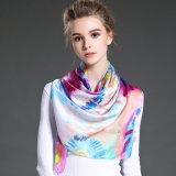 優雅なデジタル印刷の女性のスカーフ