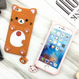 iPhone 6のための美しいBear Silicon Cell Phone Cover Case