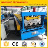 Rodillo de acero automático de la cubierta de suelo del metal que forma la máquina, maquinaria