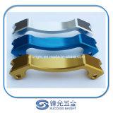 Pezzi meccanici di giro di alluminio su ordinazione W-016 di precisione di CNC