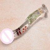 Het Glas Dildo van het Stuk speelgoed van het geslacht voor Vrouwen injo-Dg082